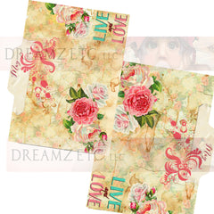 Floral Dreamz Planner/Journal - Tabbed Dividers - Printable