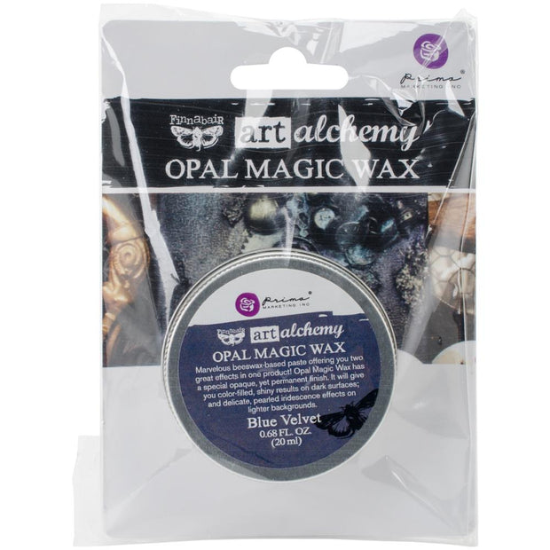 Finnabair Art Alchemy Opal Magic Wax - Blue Velvet