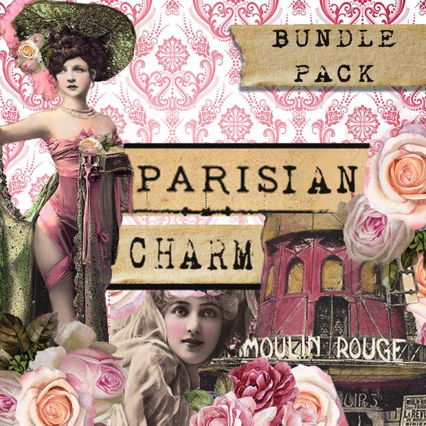 Parisian Charm - Digital Journal Kit - Bundle Pack