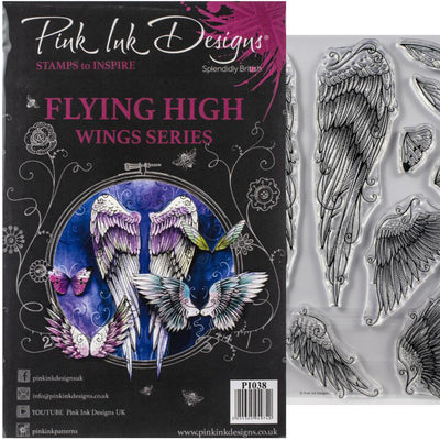 Pink Ink Designs - Flying High - A5 Stamp