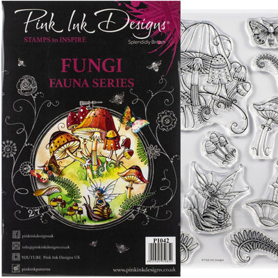 Pink Ink Designs - Fungi - A5 Stamp Set