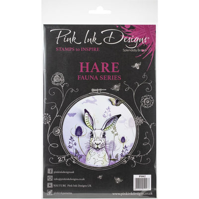 Pink Ink Designs - Hare - A5 Stamp