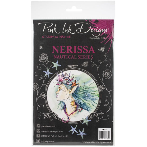 Pink Ink Designs - Nerissa - A5 Stamp