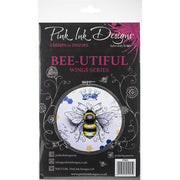 Pink Ink Designs - Bee-utiful - A5 Stamp Set