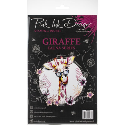 Pink Ink Designs - Giraffe - A5 Stamp