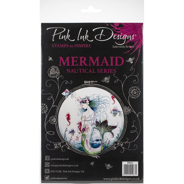 Pink Ink Designs - Mermaid - A5 Stamp Set
