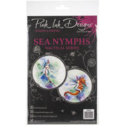 Pink Ink Designs - Sea Nymphs - A5 Stamp Set