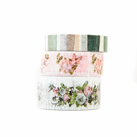 Prima Poetic Rose - Washi Decorative Tape