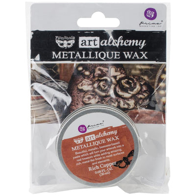 Finnabair Art Alchemy Metallique Wax - Rich Copper