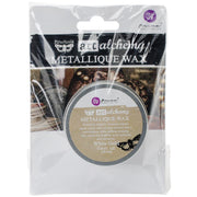 Finnabair Art Alchemy Metallique Wax - White Gold - PRE-ORDER