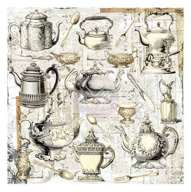 Prima Paintables - Afternoon Tea