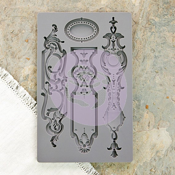 Iron Orchid Designs Vintage Art Decor Mould - Escutcheon 1