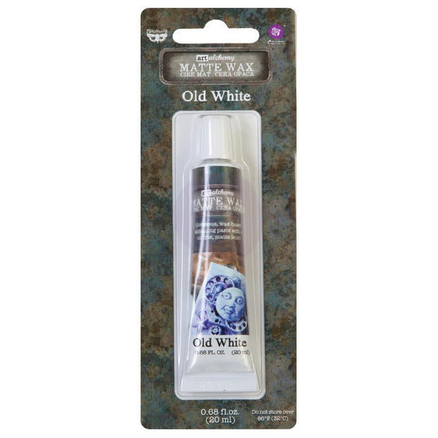 Finnabair Art Alchemy Matte Wax - Old White