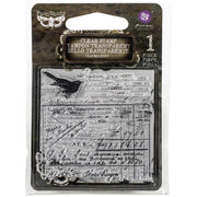 Prima Cling Mount Stamp - Old Receipt