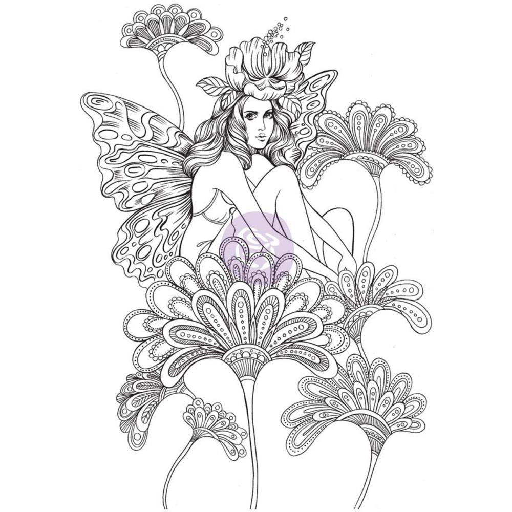 Prima Princess Cling Stamps - Anastasia