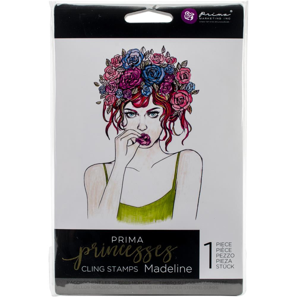 Prima Princess Cling Stamps - Madeline