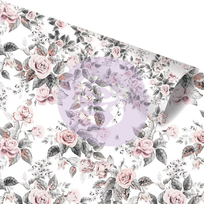 Prima Rose Quartz- 12x12 Paper/Cardstock - Rose Dreams
