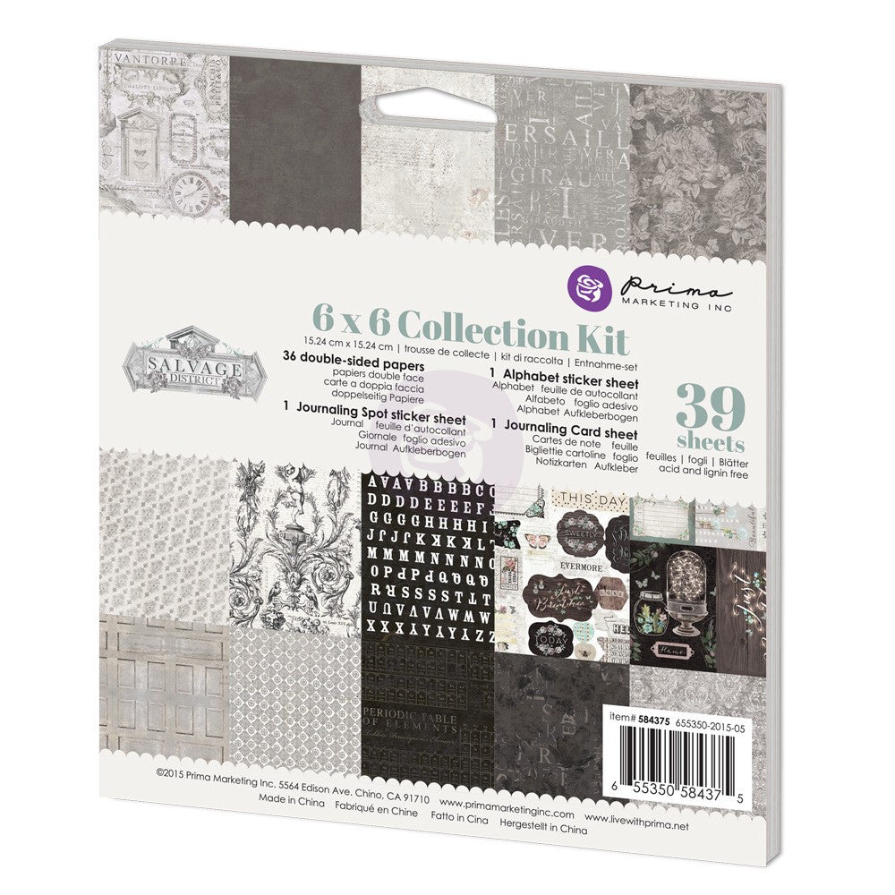 Prima Salvage District 6x6 Collection Kit