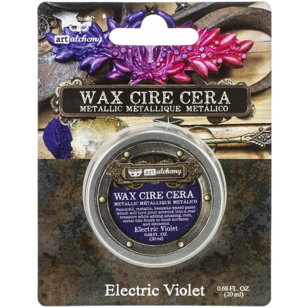 Finnabair Art Alchemy Metallique Wax  - Prima - Electric Violet