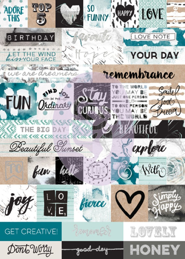 Zella Teal - Word Stickers