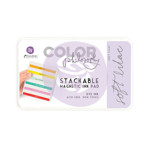 Prima Color Philosophy Ink Pad – Soft Lilac - PRESALE ITEM