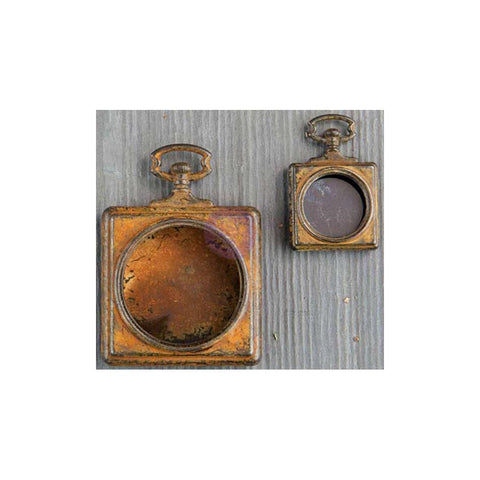 Finnabair Mechanicals Metal Embellishments - Pocket Watches