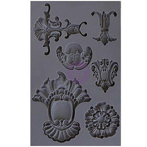 Iron Orchid Designs Vintage Art Decor Mould - Set 2