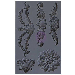 Iron Orchid Designs Vintage Art Decor Mould - Set 3