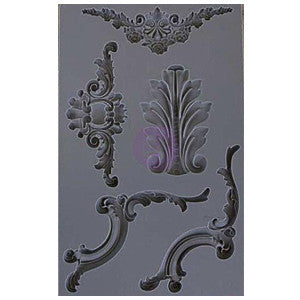 Iron Orchid Designs Vintage Art Decor Mould - Set 4