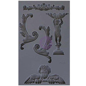 Iron Orchid Designs Vintage Art Decor Mould - Set 5