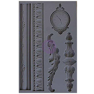 Iron Orchid Designs Vintage Art Decor Mould - Set 6