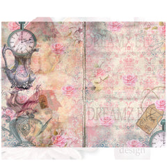 Rose Cafe Digital Collection and Journal Kit
