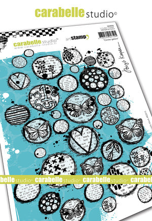 "NEW! Carabelle Studio - ""Cling Stamp A5 : Circles Galore by Birgit Koopsen - PRE-ORDER"