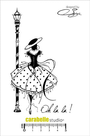"Carabelle Studio - ""Cling Stamp A6 : Oh la la ! by Soizic"""