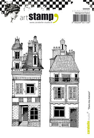 "Carabelle Studio - ""Cling Stamp A6 : Dans ma Maison"""