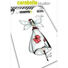 Carabelle Studio Cling Stamp A6 By Soizic-Among Flowers