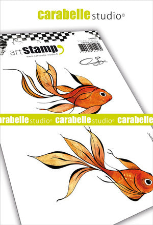 "Carabelle Studio - ""Cling Stamp A6 : ""Poissons by Soizic"""