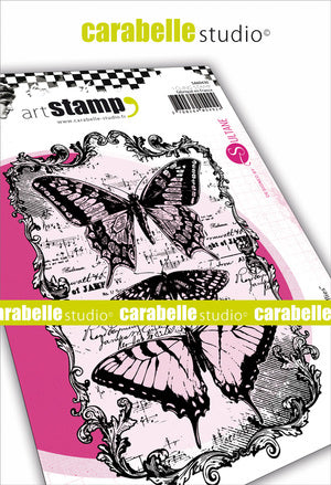 "Carabelle Studio - ""Cling Stamp A6 : ""Butterflies by Sultane"""