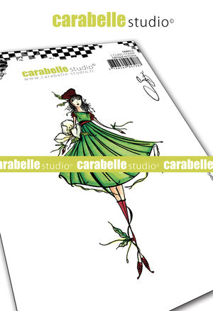 "NEW! Carabelle Studio - ""Cling Stamp A6 : ""La fée Fregaria"" by Soizic - PRE-ORDER"