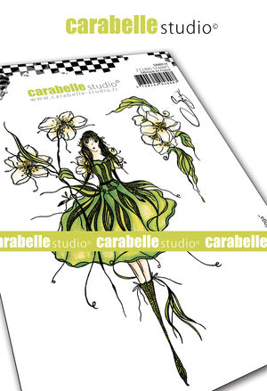 "NEW! Carabelle Studio - ""Cling Stamp A6 : ""La fée Seringa"" by Soizic - PRE-ORDER"