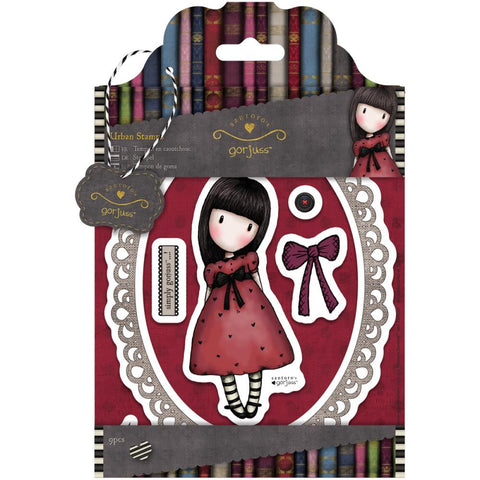 Gorjuss Santoro Rubber Stamp - Black Star