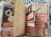 Sherlock Holmes Theme - Journal Etc.- Altered Book