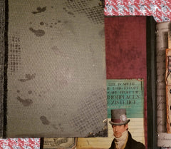 Sherlock Holmes Theme - Journal Etc. - Altered Book - Black
