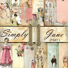 Simply Jane - Digital Paper Collection - PART 1 (10 Designs/Papers)