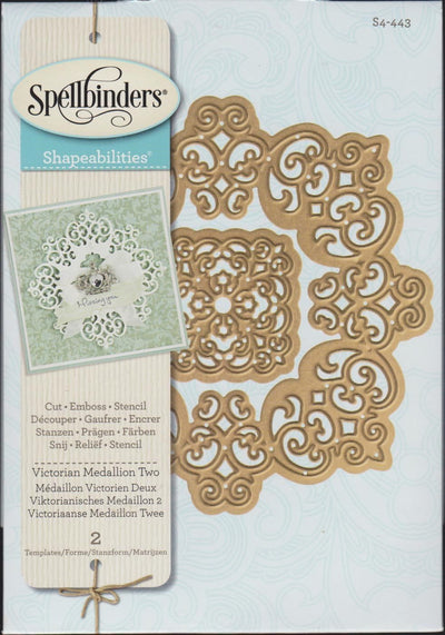 Spellbinders Shapeabilities - Victorian Medallion Two