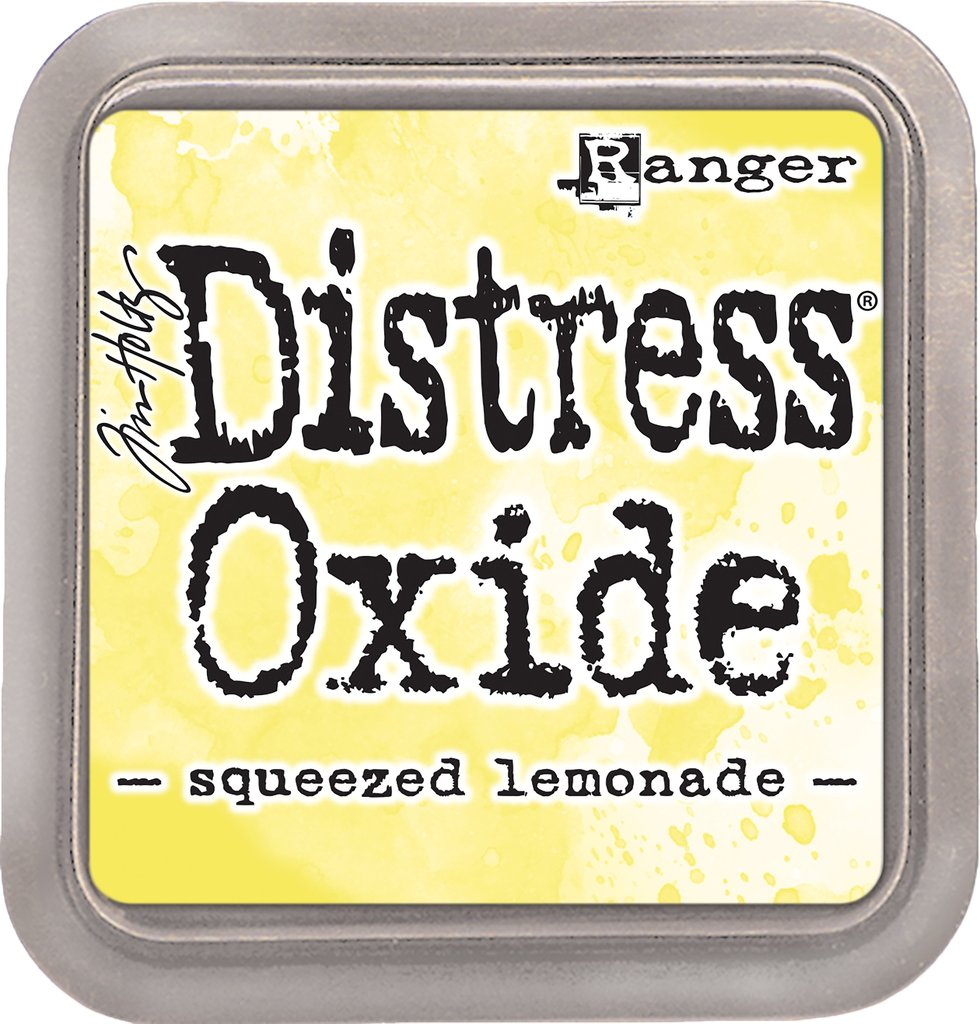 NEW! Distress Oxide - Squeezed Lemon - Tim Holtz/Ranger
