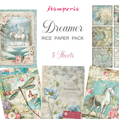 Stamperia Dreamer Rice Paper Pack - NEW