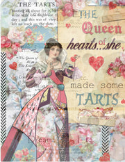Tea Time Collage - Digital Journal Kit - Designer Papers