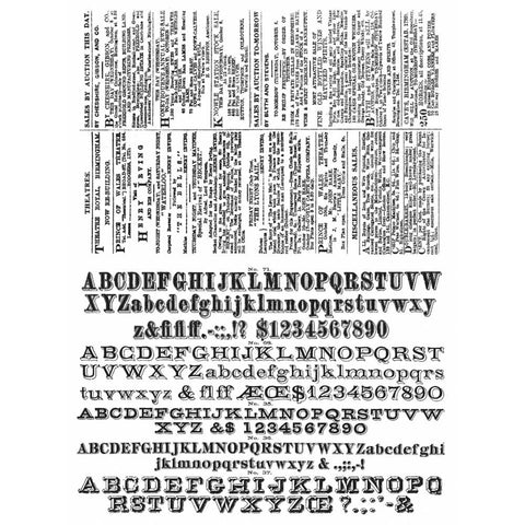 NEWSPRINT & TYPE