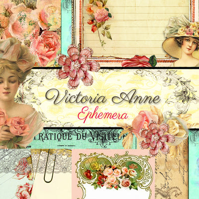 Victoria Anne Digital Collection - Ephemera Digital Pack